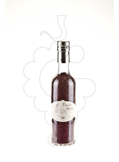 Foto Sal de vino Sal Fleur de Merlot