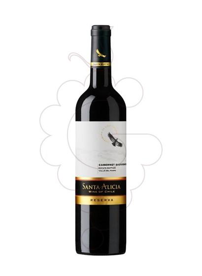 Foto Santa Alicia Carmenere  vino tinto