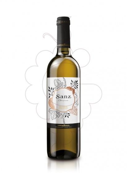 Foto Sanz Clasico vino blanco