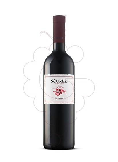 Foto Scurek Merlot vino tinto
