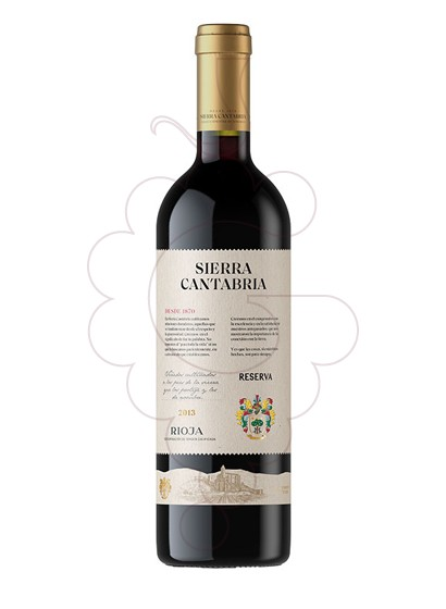 Foto Sierra Cantabria Reserva vino tinto