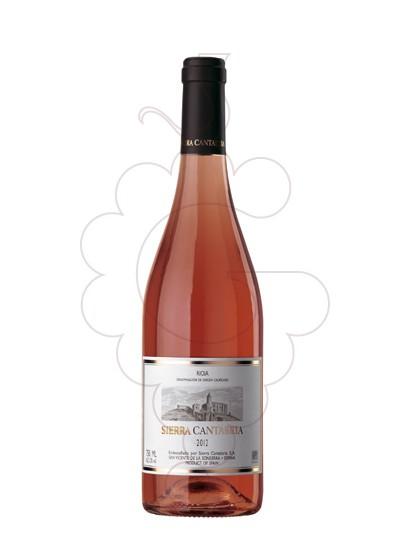 Foto Sierra Cantabria Rosado vino rosado