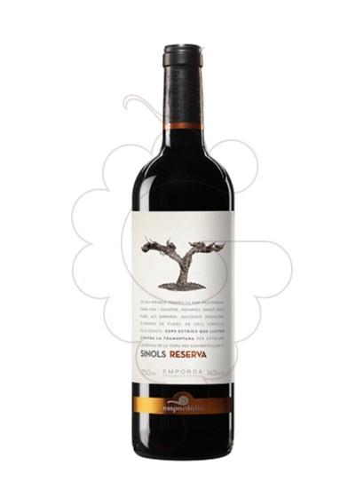 Foto Sinols Reserva vino tinto