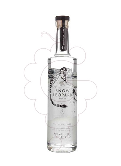 Foto Vodka Snow Leopard