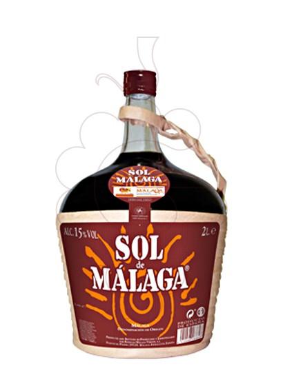 Foto Sol de Málaga Garrafa vino generoso