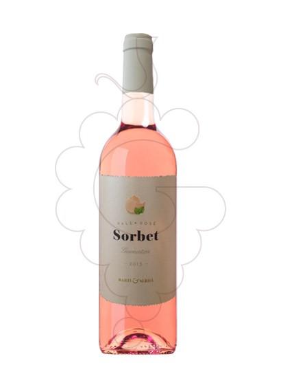 Foto Sorbet Garnatxa Rosat  vino rosado