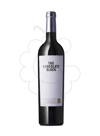 Foto Boekenhoutskloof The Chocolate Block Magnum vino tinto