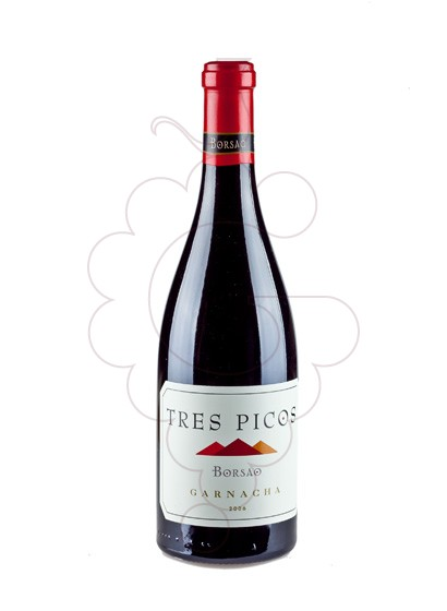 Foto Tres Picos Garnacha vino tinto