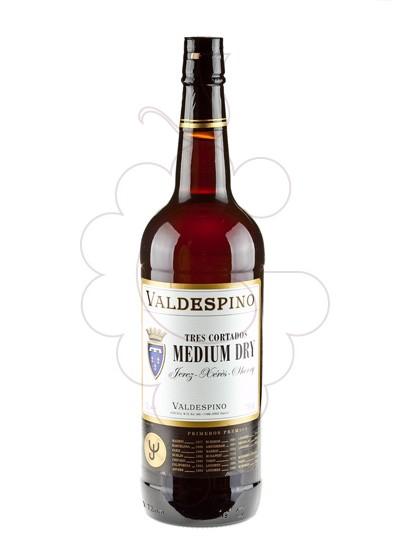 Foto Valdespino 3 Cortados Medium l vino generoso