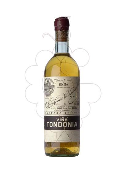 Foto Viña Tondonia Gran Reserva Blanco vino blanco