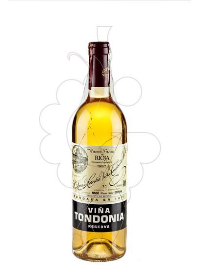 Foto Viña Tondonia Reserva Blanco vino blanco