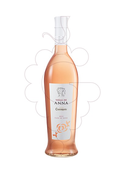 Foto Viñas de Anna Flor de Rosa vino rosado
